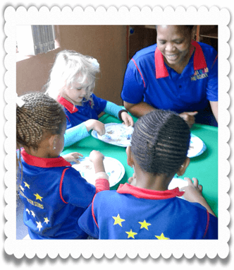 Lunch at Ouma Oumi Pre-School