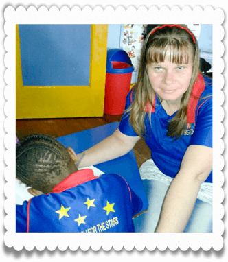 Teaching at Ouma Oumi Pre-School