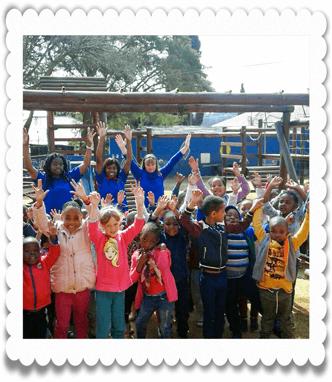 Kids at Ouma Oumi Pre-School