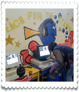 Computer Classes at Ouma Oumi Pre-School