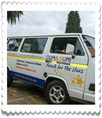 Transport at Ouma Oumi Pre-School